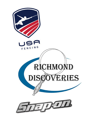 USA Fencing Team, Richmond Discoveries, Snap-on