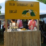 Old fashioned lemonade and limeade stand